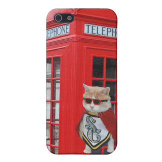 Funny Super Cat/Kitty iPhone SE/5/5s Cover