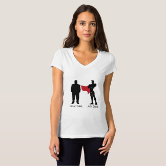 Funny Super Dad Love Your Papa My father T-Shirt