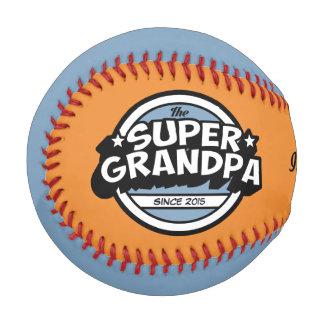 Funny Super Grandpa Baseball