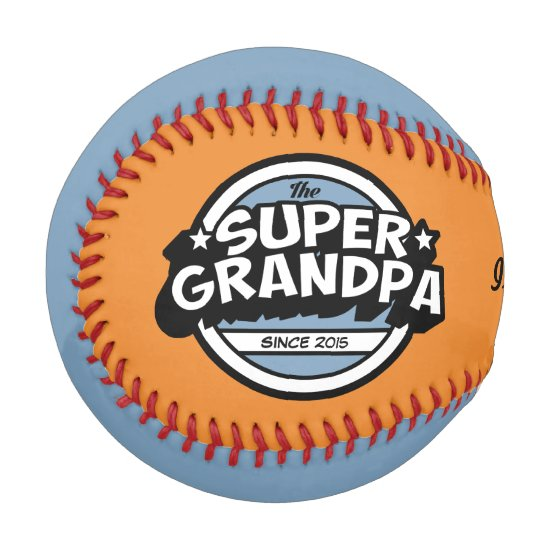Funny Super Grandpa Baseball