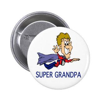 Funny Super Grandpa Pins