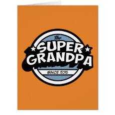 Funny Super Grandpa Card