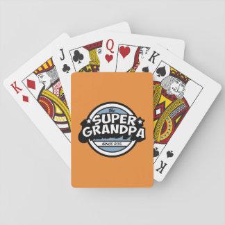 Funny Super Grandpa Card Deck