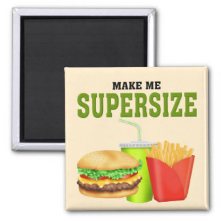 Funny Supersize 2 Inch Square Magnet