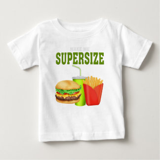 Funny Supersize Baby T-Shirt