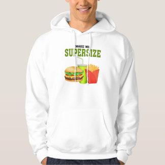 Funny Supersize Hooded Pullover