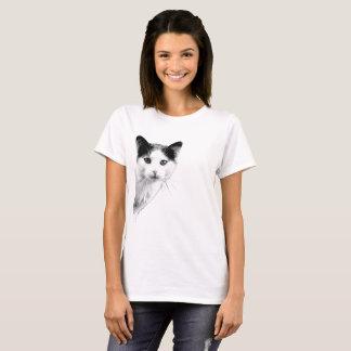 funny suprising cat T-Shirt