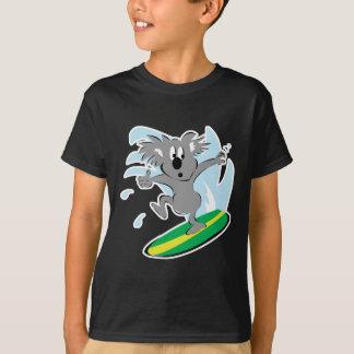 funny surfing koala bear T-Shirt