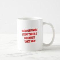 Funny Surgeon Pick-Up Line Classic White Coffee Mug