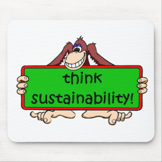 funny sustainability mousepads
