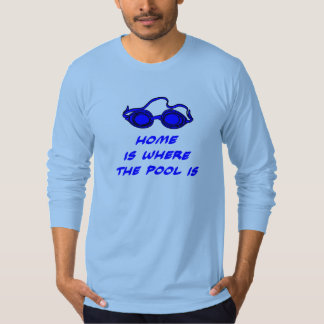 Funny Swim Quote - Long-Sleeve Top for Swimmers