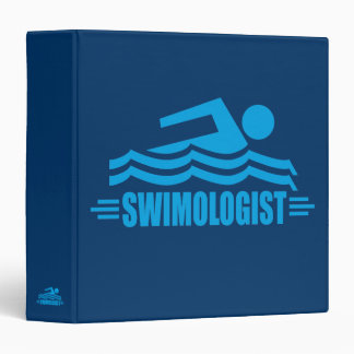Funny Swimming Binder