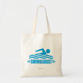 Funny Swimming Canvas Bag