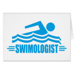 Funny Swimming Card