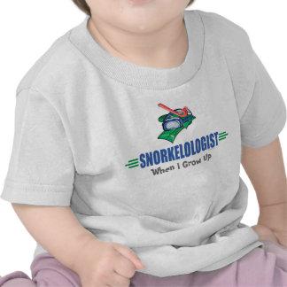Funny Swimming, Snorkel T-shirt