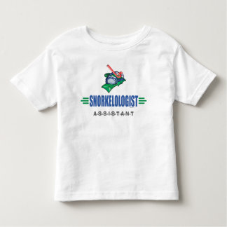 Funny Swimming, Snorkel Toddler T-shirt