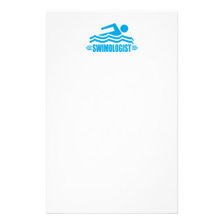 Funny Swimming Stationery