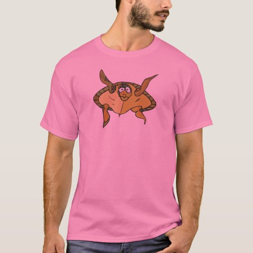 funny swimming turtle - Customized T-Shirt