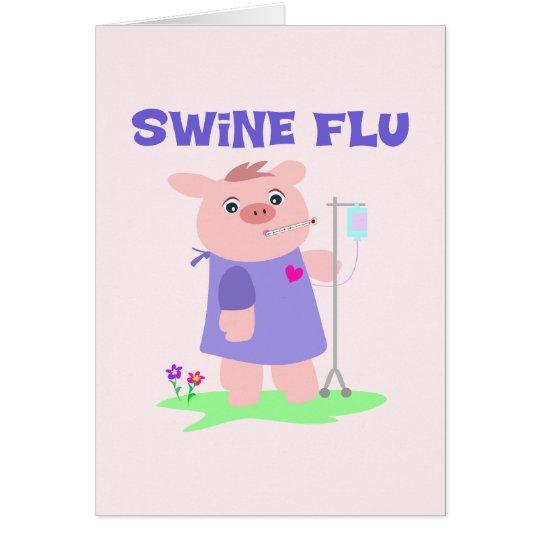 Funny Swine Flu Card