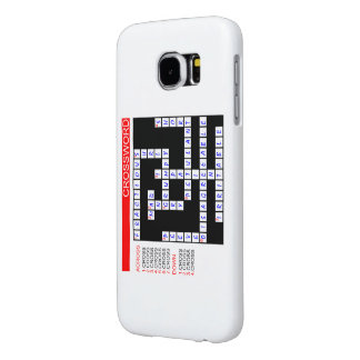 Funny Synonyms For Cross Crossword Samsung Galaxy S6 Case