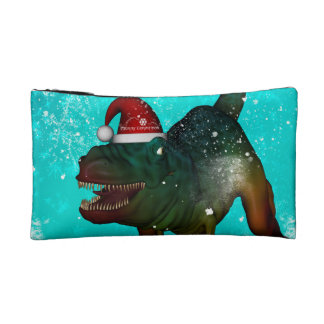 Funny T-rex Cosmetic Bag