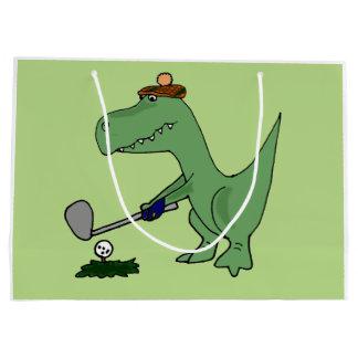 Funny Dinosaur Gift Bags | Zazzle