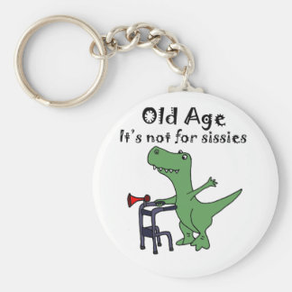 Funny T-rex Dinosaur Using Walker Keychain