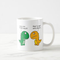 funny-T-Rex-little-arms-cartoon Coffee Mug