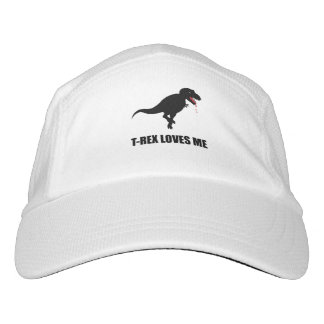 Funny T-Rex Loves Me Headsweats Hat