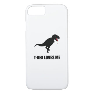 Funny T-Rex Loves Me iPhone 8/7 Case