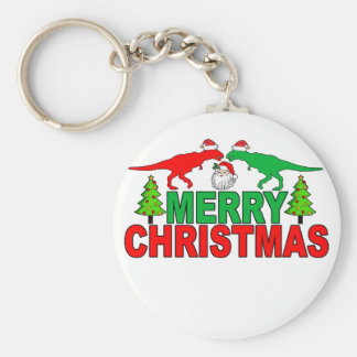 Funny T-Rex Ugly Christmas Sweater Shirts Keychain