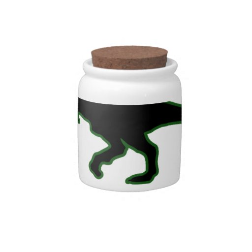 Funny T-Rex Ugly Christmas Sweater Shirts M.png Candy Jar