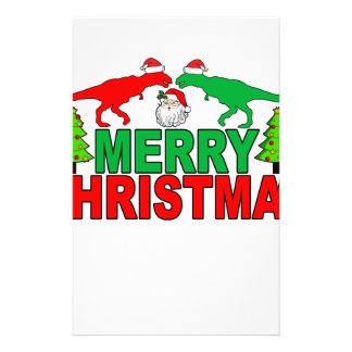 Funny T-Rex Ugly Christmas Sweater Shirts Stationery