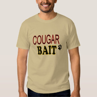 Funny T Shirt Cougar Bait
