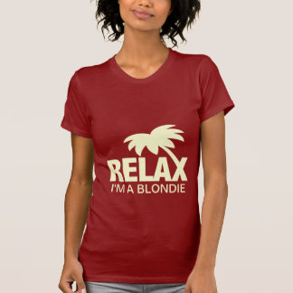 Funny t-shirt for blondies