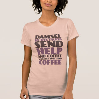 Funny T-shirt For Coffee Lovers