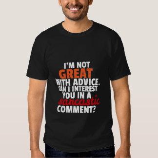 Funny T-shirt Sarcastic Comment Sarcasm Humor