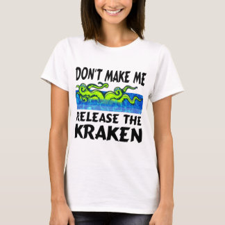 Funny T-shirts Kraken