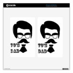 Funny take on Fathers from the 1970's Decals For Kindle Fire