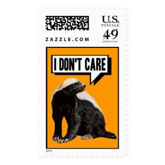 Funny Talking Honey Badger Stamps