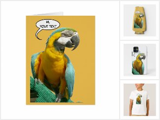 Funny Talking Parrot Collection