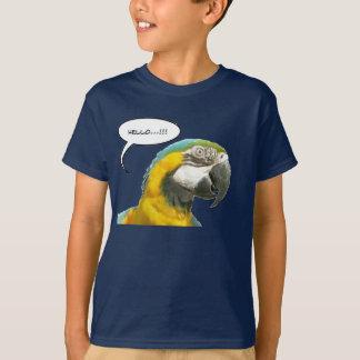 Funny Talking Parrot Face T-Shirt