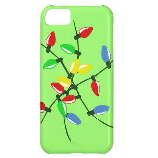 Funny Tangled Mixed Up Christmas Tree Lights iPhone 5C Cover