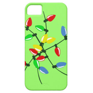Funny Tangled Mixed Up Christmas Tree Lights iPhone SE/5/5s Case