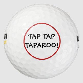 Funny Tap Tap Taparoo Golf Balls