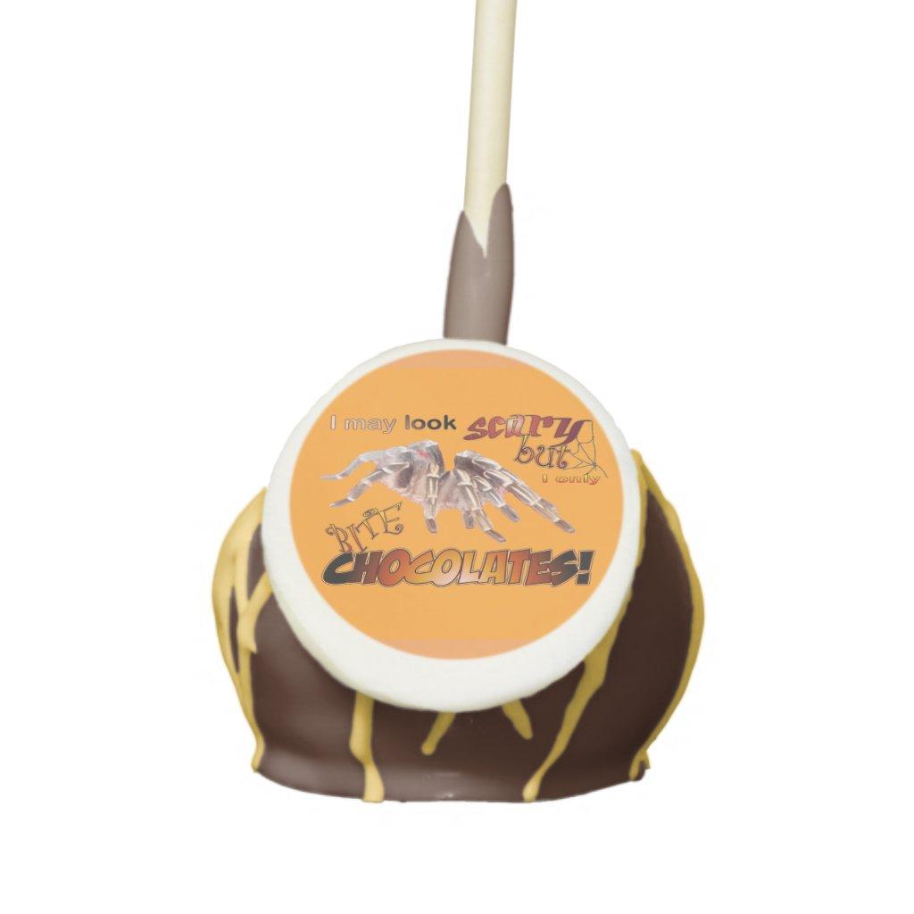 Funny Tarantula Halloween Cake Pop
