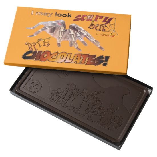Funny Tarantula Halloween Chocolate Box