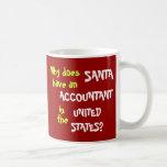 Funny Tax Accountant Christmas Joke USA Mugs