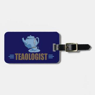Funny Tea Luggage Tag