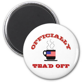 Funny Tea Party T-shirts Fridge Magnets